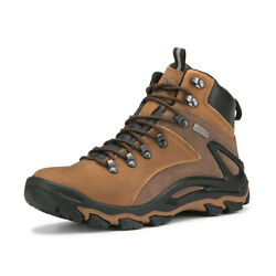 ROCKROOSTER Mid Waterproof Ankle Boot Men#x27;s Anti Fatigue Hiking Boots $49.99