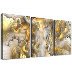 Abstract Canvas Wall Art For Living Room Modern Family Bedroom Wall Decor Color $42.57