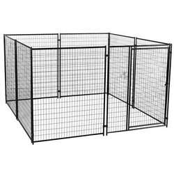 Lucky Dog Large Modular Welded Wire Dog Kennel 10 x 10 x 6 feet For Parts $309.45