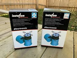 Camping Gaz Propane Stoves InstaFlame New In Box Vintage 1980's Lot Of 2 $89.99