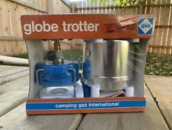 Camping Gaz Globe Trotter Stove Sealed In Box Vintage 1980's Backpacking $75.00