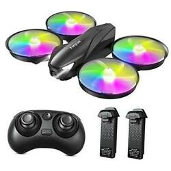 Drone for Kids A31 Mini RC Drones Toy with 7 Colors LED Light 3 Speeds $67.53