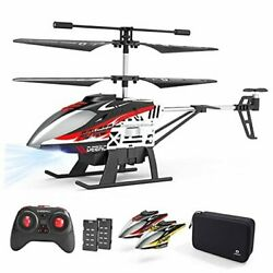 DE52 Remote Control HelicopterAltitude Hold RC Helicopters with Storage Case $54.61