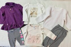 Lot of 6 Cute Baby Girl Clothes Size 6 9 month Excellent Condition $11.55