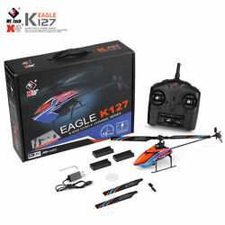 WLtoys XKS K127 Helicopter Remote Control Aircraft Plane Toy 3 Batteries US W2M1 $66.59