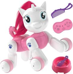 Twirlux Unicorn Toy Remote Control Pet Toy Interactive Hand Motion Gestures $18.95