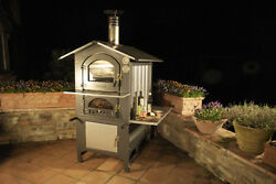 Fontana Forni Wood Burning Outdoor Oven - Log Fired Fiorni Italian Pizza Bread