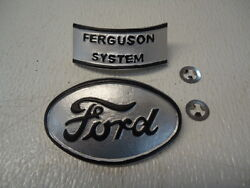 NEW Hood Emblem Set for Ford 9N 2N Farm Antique Tractor 2N16600A