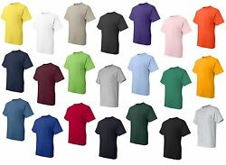 Peaches Pick NEW Mens Tall POCKET Tees SIZE LT 4XLT 100% Ultra Cotton T Shirts $12.95