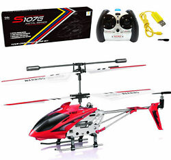 Syma S107G RC Helicopter 3.5CH Mini Metal Remote Control Helicopter Kid Gift Red $23.98