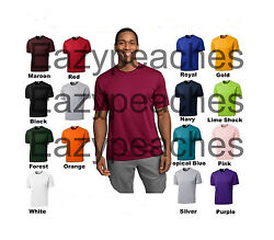 NEW Mens SPORT TEK Dri Fit Workout BIG amp; TALL T SHIRTS LT 2XLT 3XLT 4XLT TST350 $14.95
