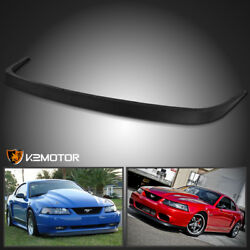 Fit 1999-2004 Ford Mustang Factory Style ABS Front Bumper Lip Spoiler Bodykit $58.38