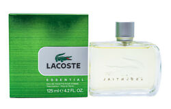 LACOSTE ESSENTIAL * Cologne for Men * 4.2 oz * BRAND NEW IN RETAIL BOX $25.15