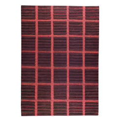 M.A.Trading Hand-knotted Piano Brown Wool Rug (4'6 x 6'6)