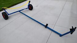 Boat Dolly for Laser Class Sailboat wBeach Wheels