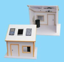 Solar Made Electric Kit for Science Fair Project Build Environment Friendly Home $34.95