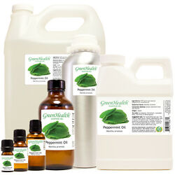 Peppermint Essential Oil Pure Natural Sizes up to 1 Gallon $10.89