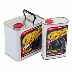 Grip Tyre Softener Help Increase Level Of Traction On Old Worn Tyres - 1 Litre