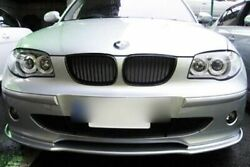 PAINTED 04-07 BMW PreLCI E87 5D HATCHBACK EXTREME FRONT LIP SPLITTER