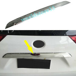 Chrome Rear Trunk Cover Tail Door Moulding Lid Trim fits Toyota Sienna 2011-2020