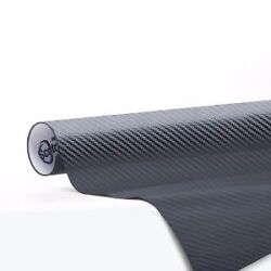 3M 1080 Carbon Fiber Anthracite Vinyl Vehicle Decal Car Wrap Film Sheet Roll