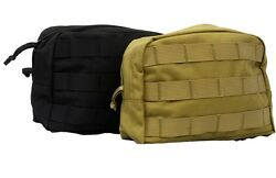 LBT MOLLE Utility Pouch LBT 6109B 1 2 Pack Black Coyote Tactical Pouch $24.99