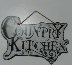 COUNTRY KITCHEN SIGN $9.95