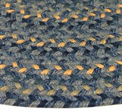 Pioneer Valley II Williamsbury Blue Multi Elongated Octagon Outdoor Rug