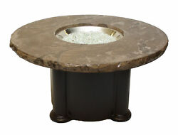 The Outdoor GreatRoom Company Colonial Propane Fire Pit Table FIR1590