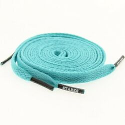 $6 Starks Laces - Tiffany Black Tip Shoelaces shoestrings 0026-45Inch-1S