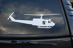 Huey Helicopter UH-1H Vinyl Sticker Decal Wall Car Window Pick  6