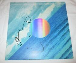 ALEX EBERT SIGNED EDWARD SHARPE AND THE MAGNETIC ZEROS HERE VINYL RECORD