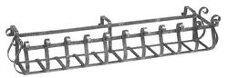 DJA Imports Steel Rail Planter