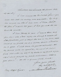 JAMES BUCHANAN - AUTOGRAPH LETTER SIGNED 11231852