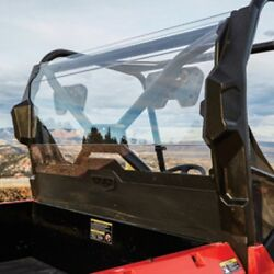 Arctic Cat Rear Clear Polycarbonate Panel Window 2017 Prowler 500 - 2436-240