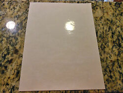 Inkjet printable glossy CLEAR vinyl - 10 Pack (8.5in x 11in sheets)