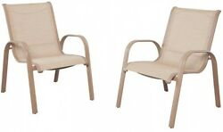 Westin Commercial Sling Patio Dining Chairs (2-Pack)Outdoor Garden Furniture