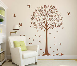 Large Wall Tree Branch with Birds Art Vinyl Tree Sticker Wall Decal HIGH QUALITY GBP 26.99