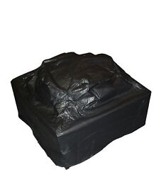 Fire Sense Square Fire Pit Cover Black New