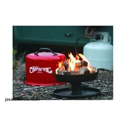Portable Propane Campfire Outdoor Heater Campsites Bonfire RV Party Tailgating