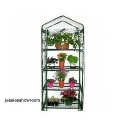 Mini Greenhouse Home Gardening Flowers Plants Outdoor Portable 4 Shelves New