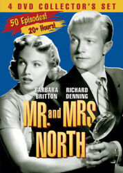 Mr. And Mrs. North: 4 DVD Collector#x27;s Set New DVD Black amp; White Boxed Set $15.97