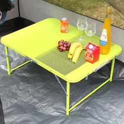 TOMSHOO FOLDABLE PORTABLE PICNIC CAMPING GARDEN FOLDING TABLE & 2 CHAIR SET