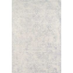 Hand-Tufted Gallery Mineral Ivory Wool Rug (7'6