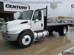 2012 International 4300 FLAT BED REGULAR CAB