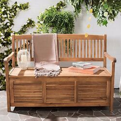 Outdoor Pool Storage Container Backyard Patio Garden Furniture Chair Bench Seat