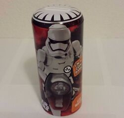 FACTORY SEALED 1ST ORDER STORMTROOPER STAR WARS FORCE AWAKENS WATCH + COIN BANK