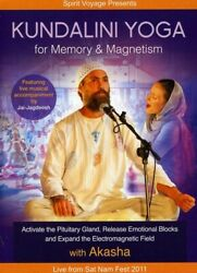 Akasha - Kundalini Yoga For Memory and Magnetism [New DVD] Digipack Packaging