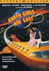Earth Girls Are Easy New DVD $9.97