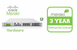 Cisco Meraki MX400 Security Appliance + 3yr of Enterprise License and Support